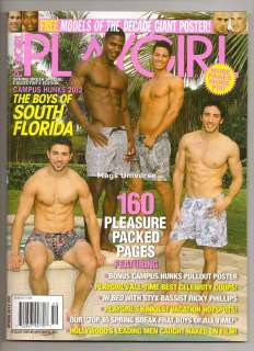 Ships Today: Playgirl Magazine   Spring 2012   Boys of South Florida