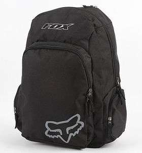 FOX KICKER MENS BACKPACK BLACK GRAY NEW $50