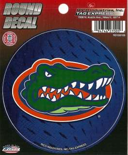 Gator Head Logo Vinyl Decal Car Window Sticker 094746270056