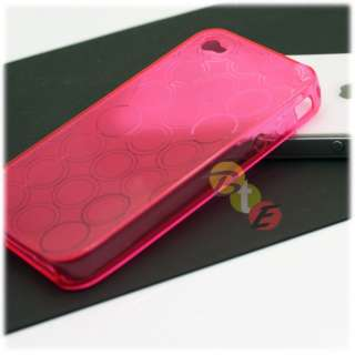 10x FLEX RESIN CRYSTAL SOFT TPU SILICONE GEL CASE COVER Apple iPhone 4