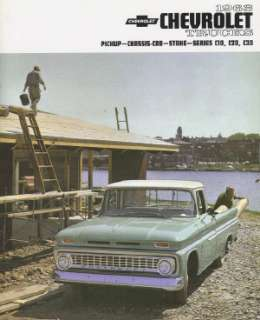 CHEVROLET 1963 Truck Sales Brochure 63 Chevy Pick Up