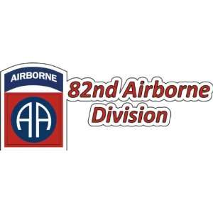 United States Army 82nd Airborne Division Decal Bumper