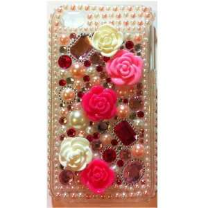 Bling Rhinestone Protector Hard Skin Back Case Phone Cover for iPhone