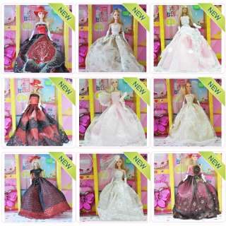 New Fashion Princess Wedding Clothes Party Dresses Gown Outfit for