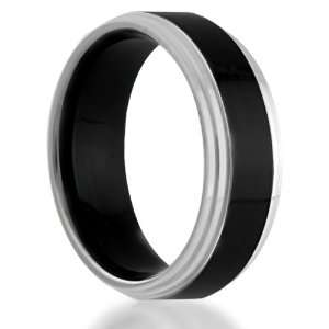 Edges Comfort Fit Wedding Band Ring (Size 4) Eternal Bond Jewelry