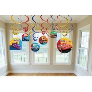 Disney Cars Swirl Decorations Toys & Games