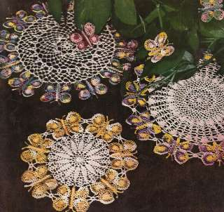 Crochet Butterfly Doily | Crochet Patterns - Thread