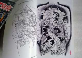 RARE TATTOO FLASH MAGAZINE ART BOOK DESIGN FROM CHINA