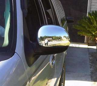 97 03 Ford F150 02 Expedition Chrome Mirror Covers Caps