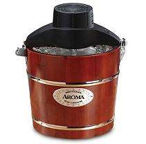 Aroma 4 Quart Traditional Ice Cream Maker   Sams Club