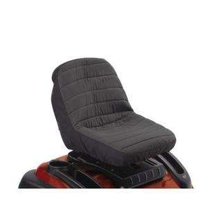 Classic Accessories 12324 Deluxe Tractor Seat Cover   Black  Medium