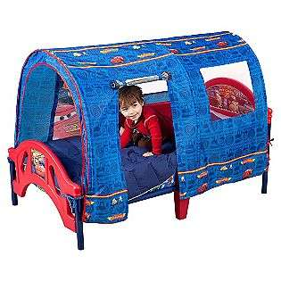 Disney Pixar Cars Tent Toddler Bed  Delta Childrens Baby Furniture