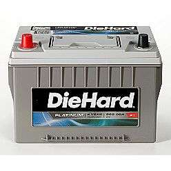 Price with Exchange)  DieHard Automotive Batteries Car Batteries