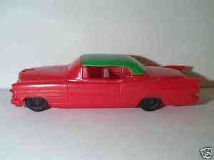 PROCESSED PLASTIC 1950S CADILLAC HARD TOP CAR MINT