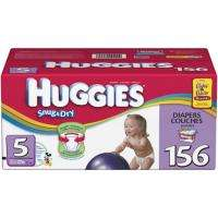 Huggies   Snug & Dry Diapers, Step 5 (over 27 lbs.), 156 ct. Member