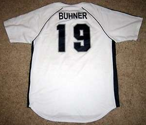 Jay Buhner son Gunnar player worn game used baseball jersey