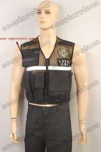 Vest of Crime Scene Investigation CSI Las Vegas Custom