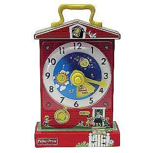 Fisher Price Classics Music Box Teaching Clock  Basic Fun Toys & Games