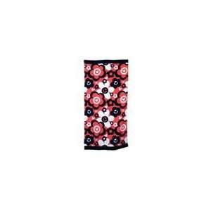 Mickey Mouse Beach Towel   Red Flowers