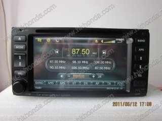 Toyota 2003 2005 Land cruiser car dvd player radio gps bluetooth