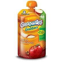 Gerber Graduates Grabbers Apple/Sweet Potato   Nestle   BabiesRUs
