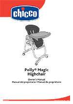 Chicco Polly Magic High Chair   Silver   Chicco   Babies R Us