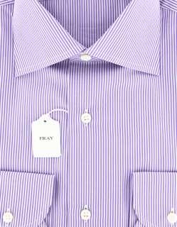 New $600 Fray Purple Shirt 15/38