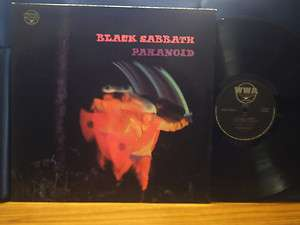 BLACK SABBATH Paranoid UK WWA Labels Rare LP