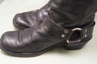 Durango Motorcycle Black Leather 7.5 m Mens Western Boots