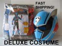 Power Ranger Deluxe Halloween Costume SPD Police Captain Boy 4 6 RARE