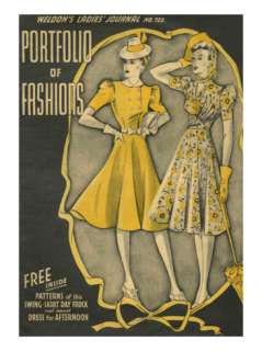 Weldons Ladies Journal, Magazine Cover, UK, 1940 Photo at AllPosters