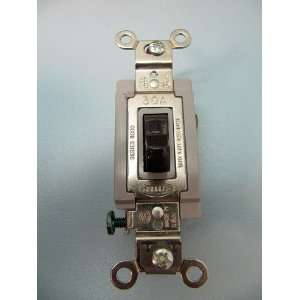 Hubbell 120/277v 1pole Brown Motor Starting Switch: Home Improvement