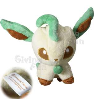 Pokemon Center Pikachu #470 LEAFEON Pokedoll Plush Doll