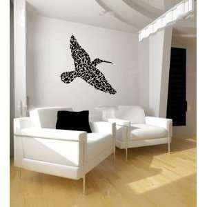 Birds Shaped Like a Bird Vinyl Wall Decal Sticker Graphic