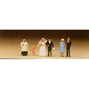 WEDDING   PREISER N SCALE MODEL TRAIN ACCESSORIES 79058: Toys & Games