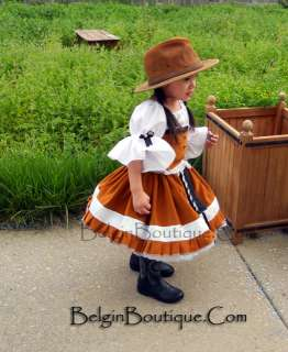 Pageant Western Rodeo Casual Wear custom 12m 2T 3T 4 5 6 7 8 910