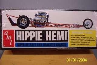 AMT 605 Model Kit HIPPIE HEMI DRAGSTER Sealed!