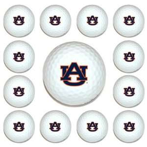 Auburn Tigers Team Logo Golf Ball Dozen Pack   Golf