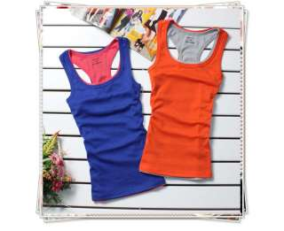 Womens Mini Sleeveless T Shirt Girls Tank Tops Ladies Waistcoat