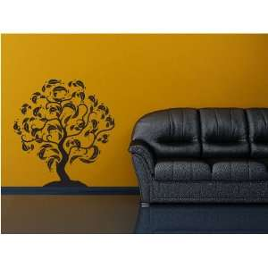 Tree   Vinyl Wall Art Decal Stickers Decor Graphics