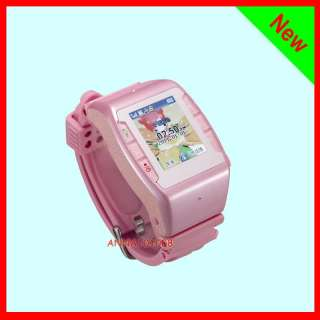 New Quad band Touch screen Unlocked gsm watch phone cellular Camera