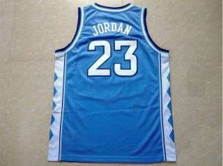 New North Carolina Michael Jordan jersey #23 blue