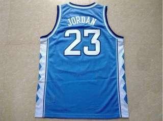 New North Carolina Michael Jordan jersey #23 blue