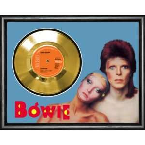 David Bowie Sorrow Framed Gold Record A3 Musical