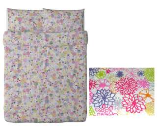 New Ikea RENATE FLORA Duvet cover and pillowcases Queen