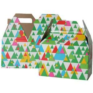 4 x 8 x 5 1/4 Medium Christmas Tree Design Gable Box