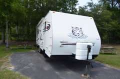 Travel Trailer With Slide RV Camper in RVs & Campers   Motors