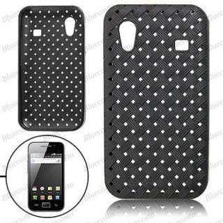 Plastic Soft Case Cover Pouch For Samsung Galaxy Ace s5830 Black New