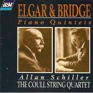 The Coull String Quartet Elgar & Bridge Piano Quintets Edward Elgar