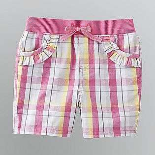 Girls Ruffle Pocket Shorts  Toughskins Baby Baby & Toddler Clothing